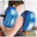 AquaBells Travel Weights Dumbells