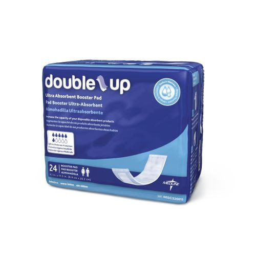 double up incontinence underwear liners 93d