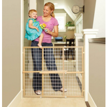 North States Extra Wide Mesh Wire Gate