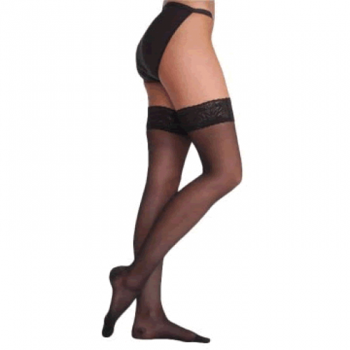 Juzo Sheer OTC Thigh High Compression Stockings 10-15 mmHg