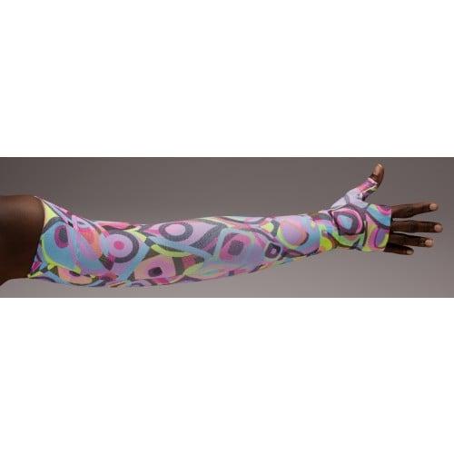 LympheDivas Neon Glow Compression Arm Sleeve 20-30 mmHg