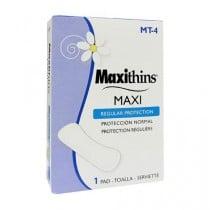 Maxithins Vended Feminine Napkins