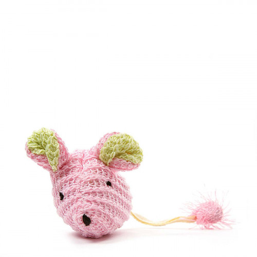 Our Pet's Wee Pinkie Mouse Catnip Filled Cat Toy