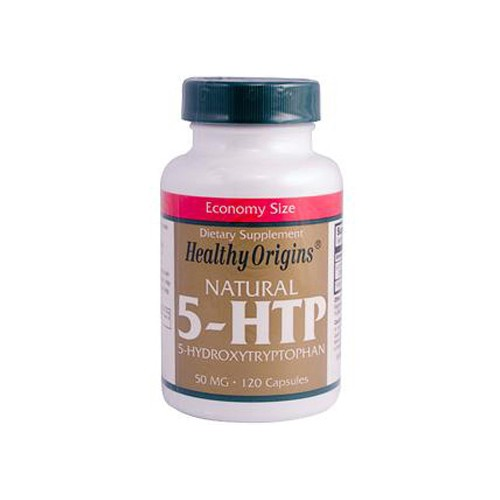 Healthy Origins Natural 5 HTP 50 mg Dietary Supplement