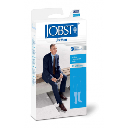 Jobst for Men Moderate Support Knee High Compression Socks 15-20 mmHg