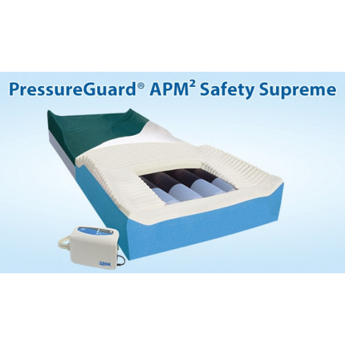 PressureGuard APM2 Safety Supreme Mattress & Control Unit/Pump