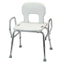 Bariatric Shower Chair with Back and Arms