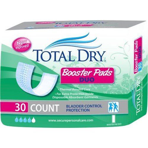 TotalDry Booster Pads Duo