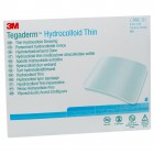 3M Tegaderm Hydrocolloid Dressing - Thin Oval Square Sacral