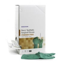 McKesson Perry Synthetic Surgical Gloves- Powder-Free