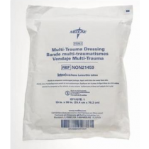 Medline Multi-Trauma Abdominal Pads NON21459   10 x 30 Inch   Sterile