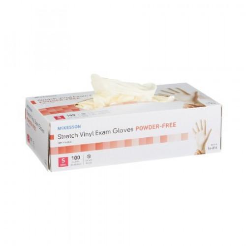 McKesson Stretch Vinyl Exam Gloves - Powder Free