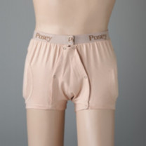 Posey Hipsters Incontinent Brief with High Durability Pads