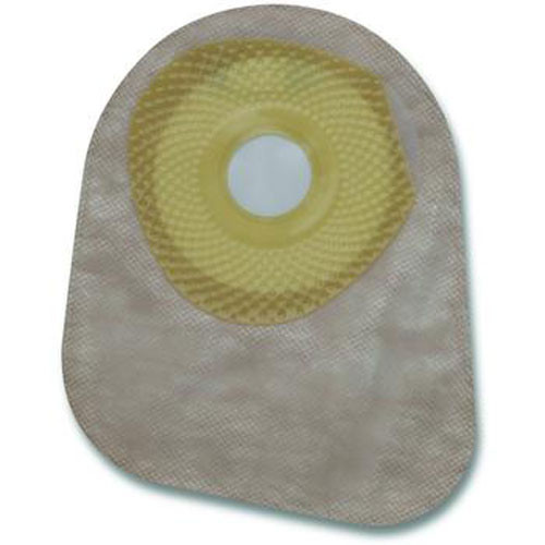 Premier One-Piece Closed Mini Ostomy Pouch - Flat SoftFlex Barrier Filter