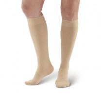 AW Style 291 Luxury Opaque Closed Toe Knee Highs - 20-30 mmHg