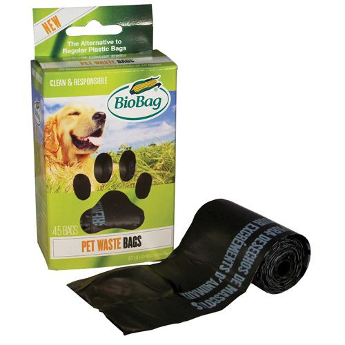 BioBag Dog Waste Bags on a Roll