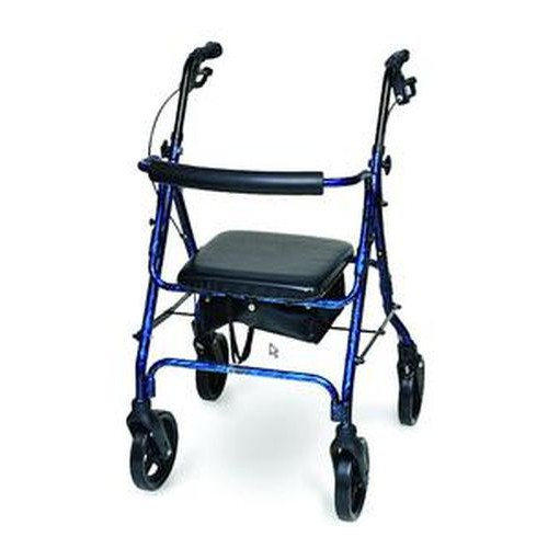 Deluxe Aluminum Rollator by PMI