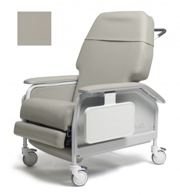 lumex extra wide clinical care geri chair recliner a53