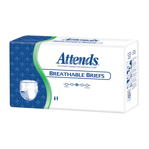 Attends Breathable Briefs Packaging
