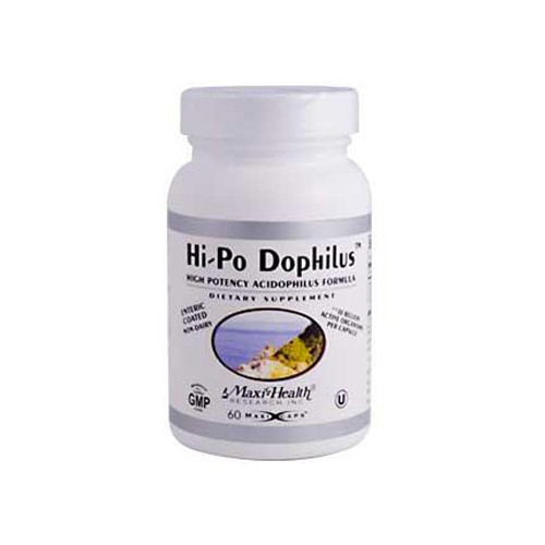 Max Health Hi Po Dophilus High Potency Acidophilus Formula
