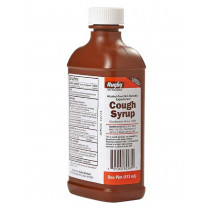 Rugby Cough Relief Syrup with Guaifenesin - 16 oz. Bottle