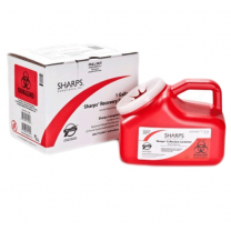 Sharps Waste Disposal by Mail 11000 1-Gallon