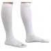 Carolon Anti-Embolism CAP Knee-High Inspection Toe Stockings 18 mmHg
