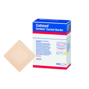 Cutimed Sorbion Sachet Border Dressing 7323602 | 10 x 10 cm | 6 x 6 Inch by BSN