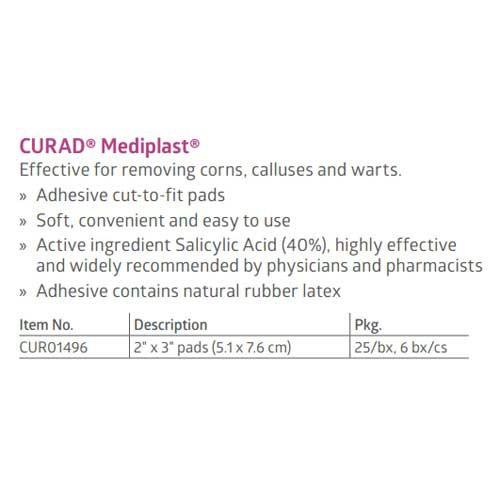 curad mediplast corn wart callus remover dd4