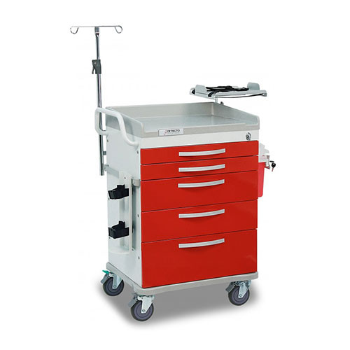 Whisper Emergency Room Medical Carts