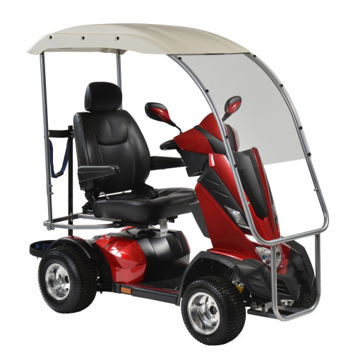 King Cobra Personal Golf Vehicle Executive Power Scooter, 4 Wheel