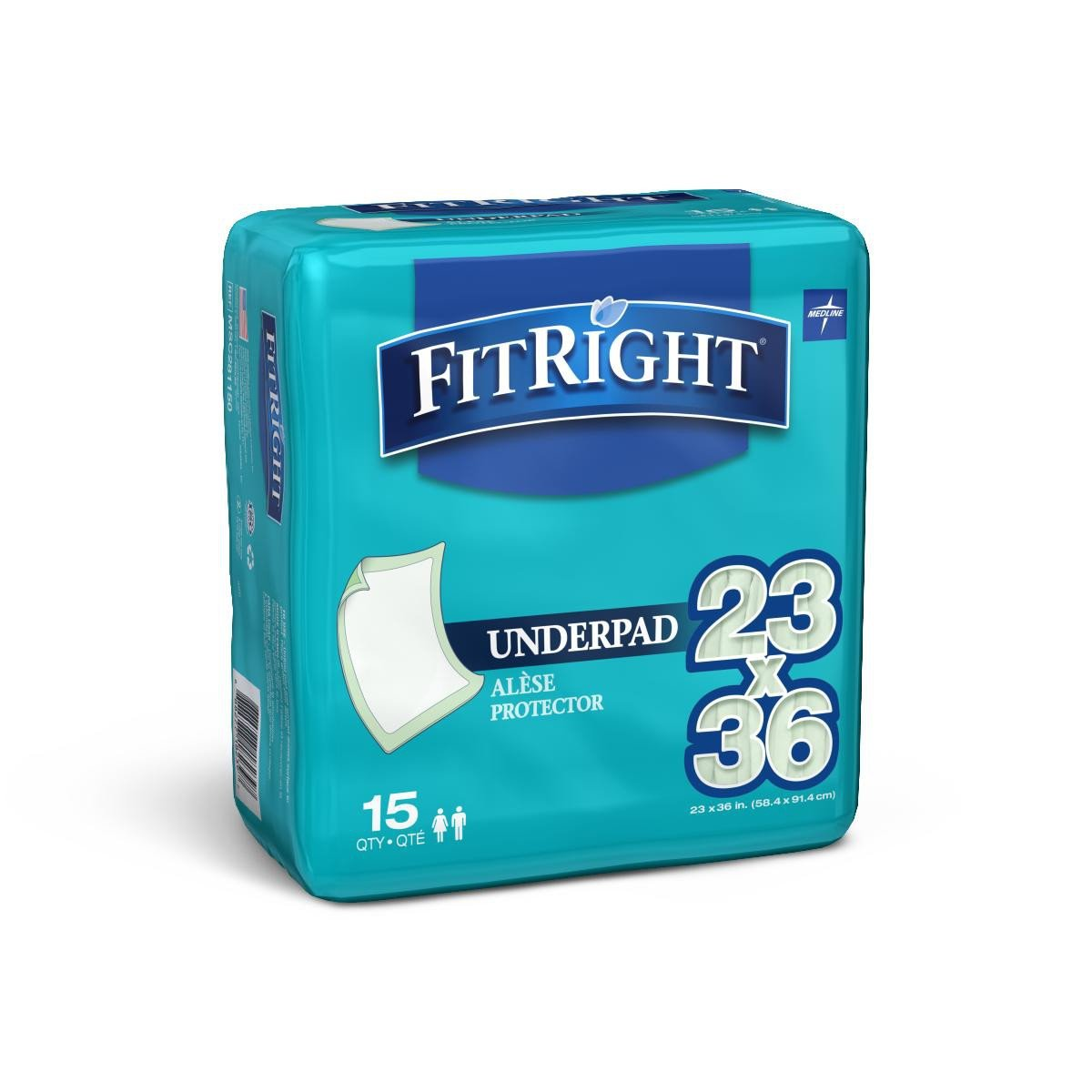 medline fitright underpads d41