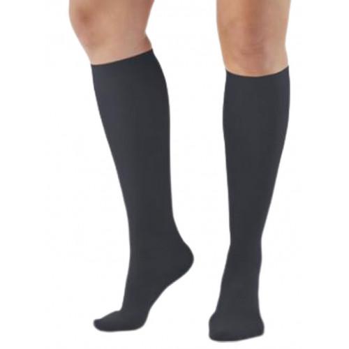 AW Style 136 Women's Microfiber Knee High Trouser Socks - 20-30 mmHg