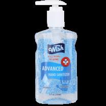 Wish Advanced Hand Sanitizer Gel with Vitamin E | 8 oz. Pump Bottle