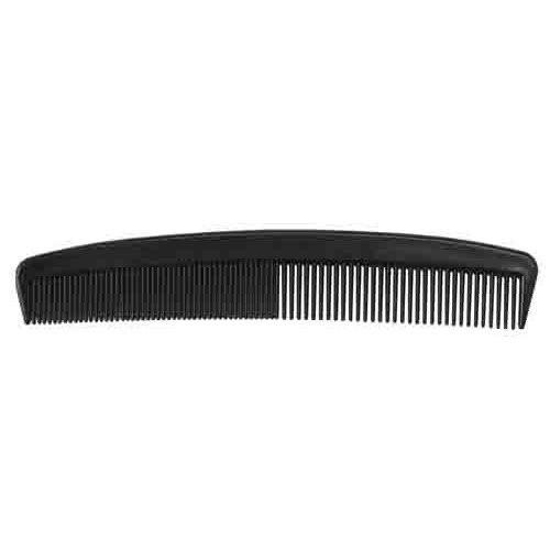 Medline MDS137007 Classic Plastic Combs - Black, 144 Count
