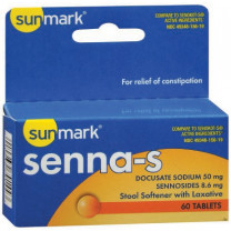 Stool Softener Docusate Sodium / Calcium Sennosides by sunmark