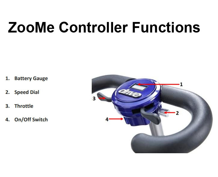 zoome flex folding travel scooter ff5