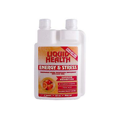 Liquid Health Products Liquid Health Tangerine Orange Energy and Stress Supplement