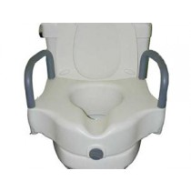Raised Toilet Seats with Front Clasp