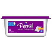 Prevail Adult Washcloths with Lotion - Tub