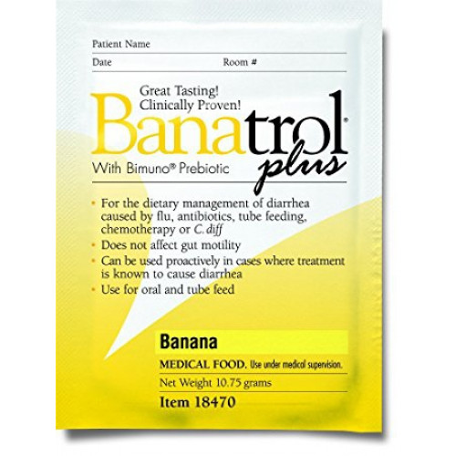 Banatrol Plus Diarrhea Treatment with Bimuno Prebiotic