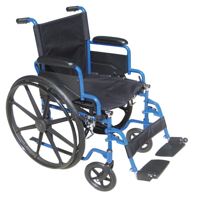 Blue Streak Wheelchair Buy Swing Away Footrest Elevating