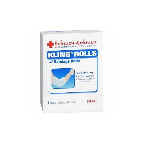 Johnson and Johnson Kling Rolls Bandage Rolls