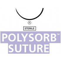 Polysorb Violet Braided Suture with Needle