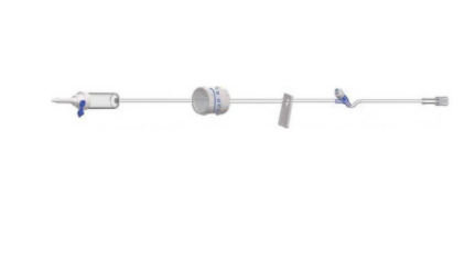 adult iv administration set with flow controller f66