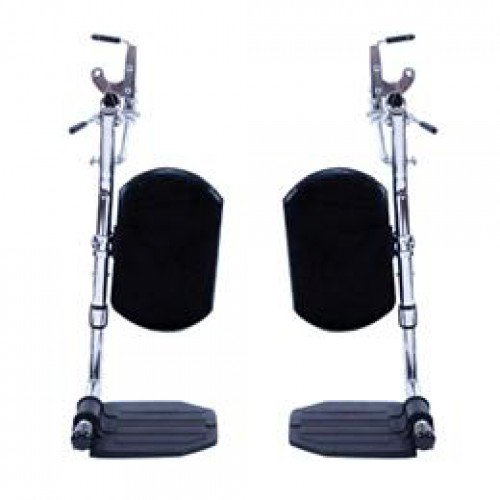 Invacare Wheelchair SwingAway Elevating Legrest with ALUMINUM Footplates