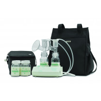 Purely Yours Breast Pump with Carry All Tote and Accessories