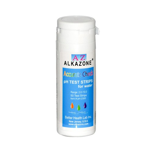 AlkaZone Accurate Check pH Test Strips For Water