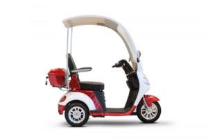 eWheels EW-44 Luxury Three-Wheel Scooter with Canopy