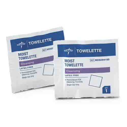 Antiseptic Towelettes, Latex Free